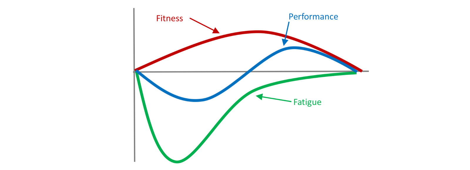 Image result for fitness-fatigue model
