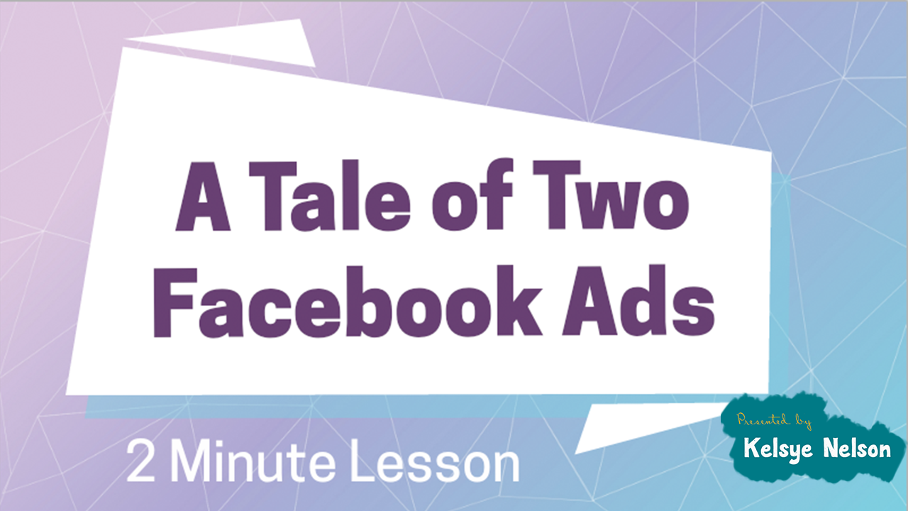 Are you making this mistake with your Facebook ads?
