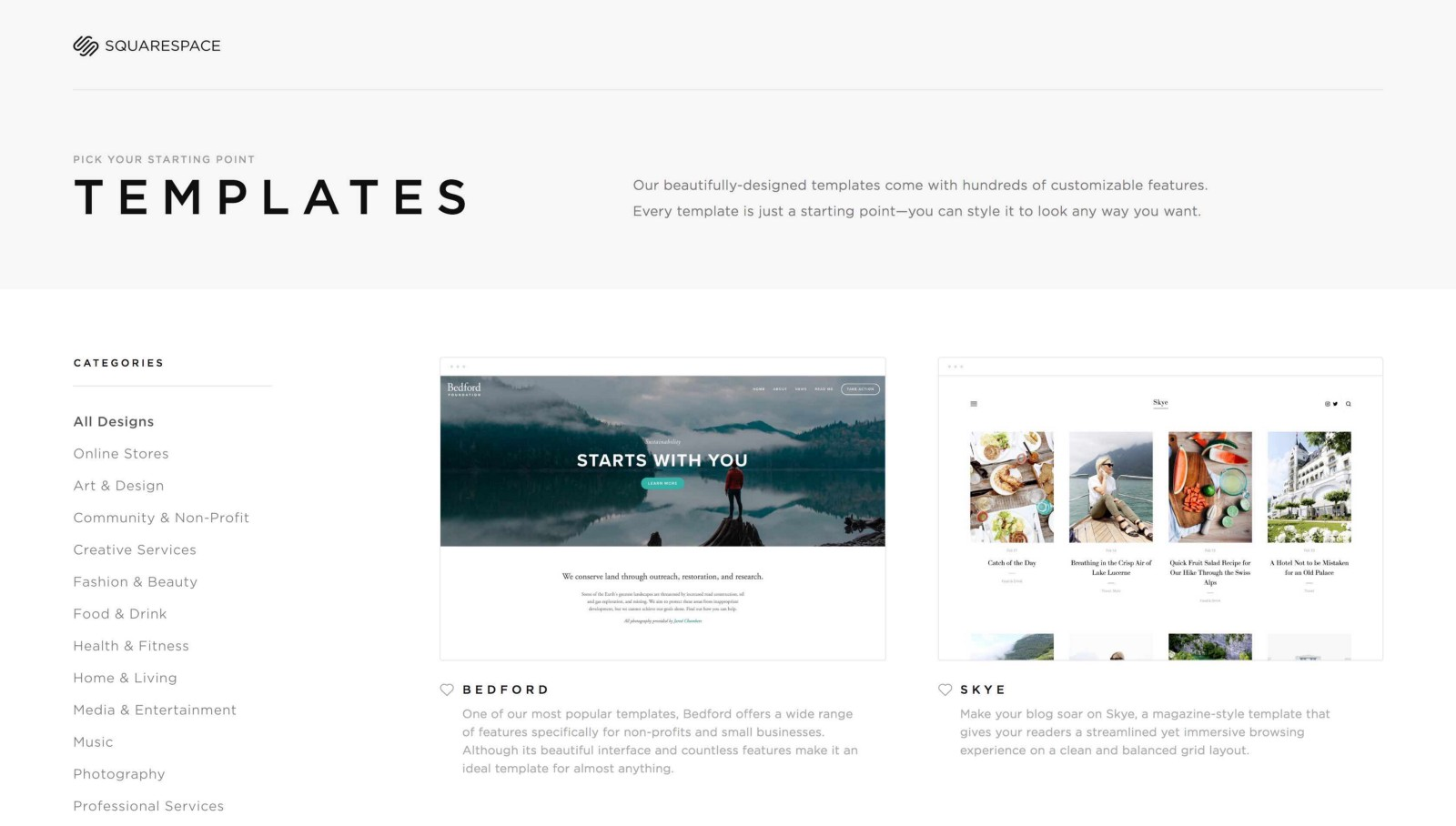 3 simple ways to make the most of your squarespace layout squarespace templates come with cohesive fonts and demo pages fbccfo Gallery