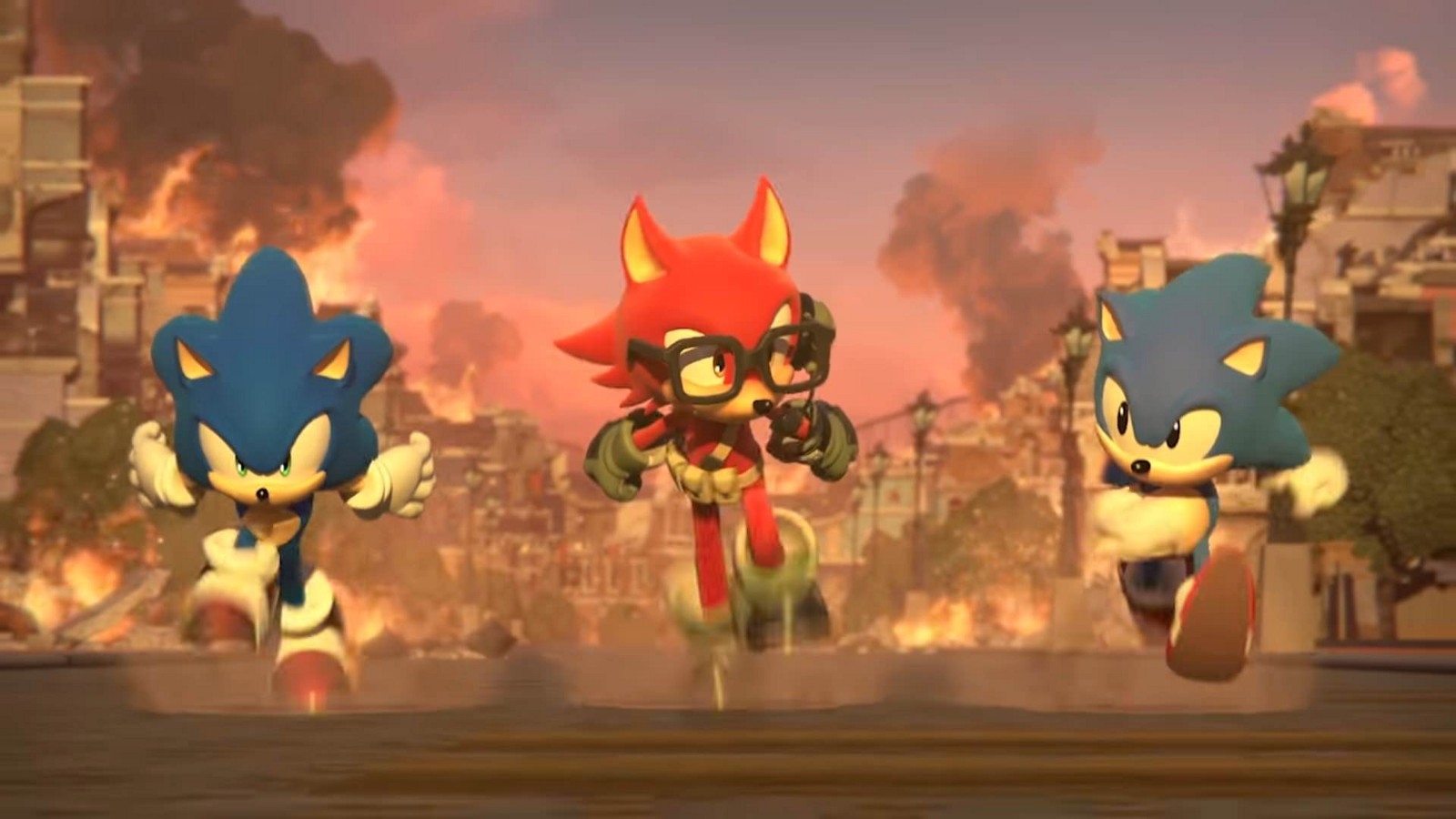 sonic forces levels