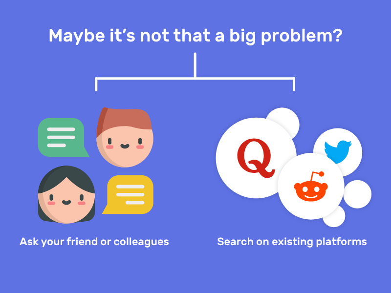 Search existing platforms
