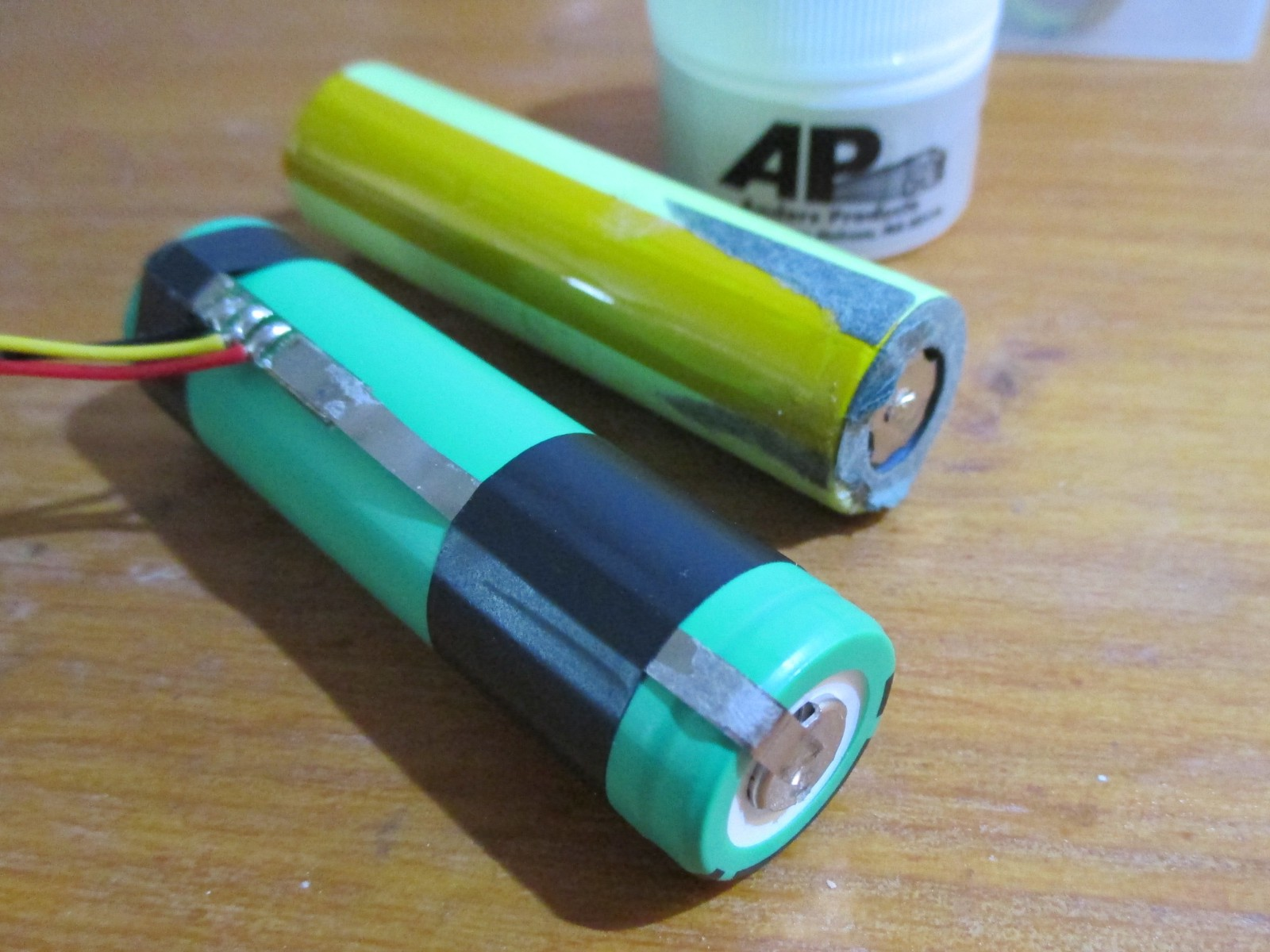 Fly 6 Repair Battery Replacement Bikebot Medium Rechargeable Lithiumion Batteries With Protection Circuit Board Pcb Secure The Onto A New 18650 Li Ion Double Check Its Right Way Around Getting This Wrong Would Be Bad Really