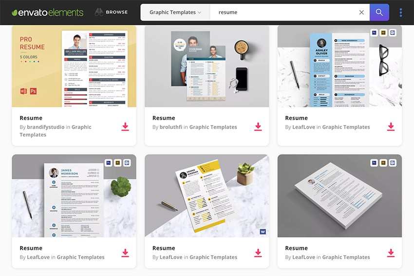 15 best professional resume templates best digital themes medium