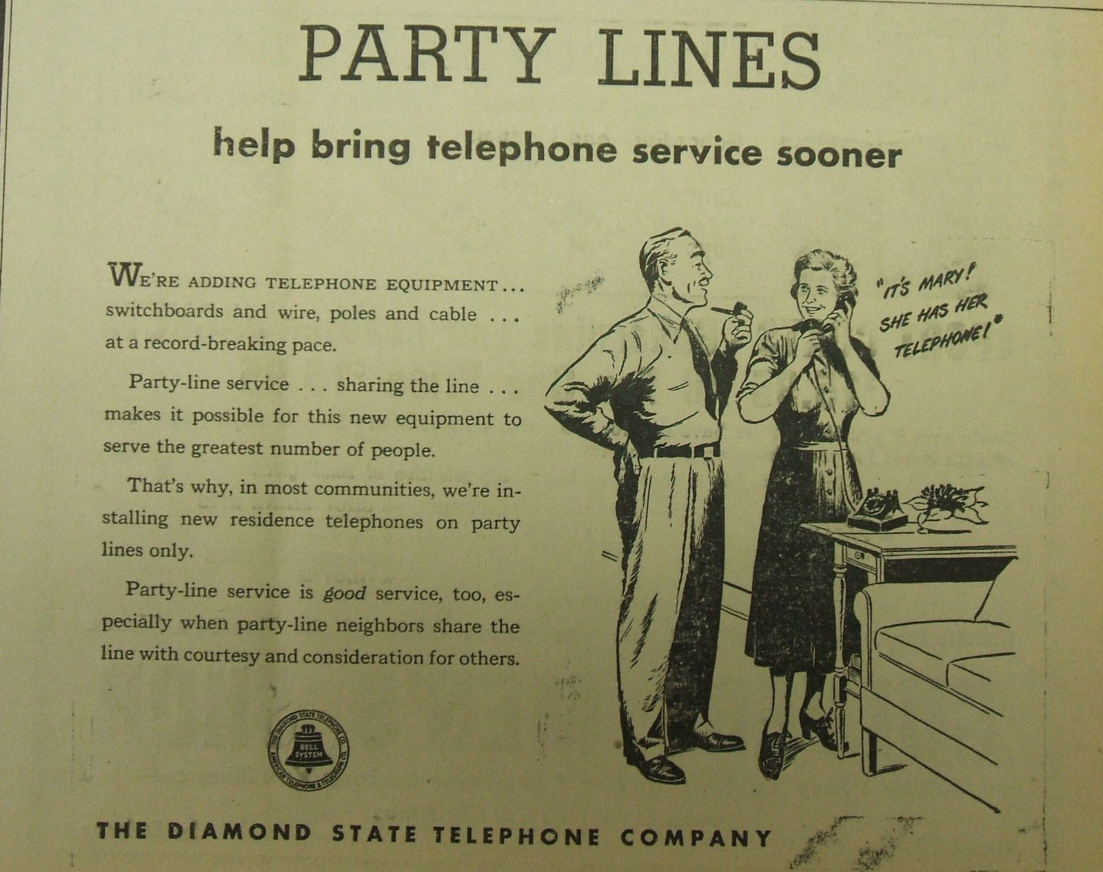 the birth and death of privacy: 3,000 years of history ... party line telephone wiring
