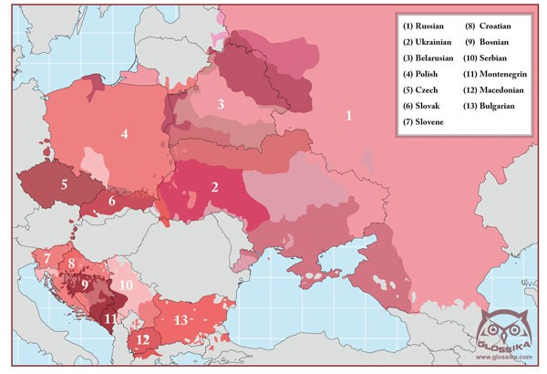 How To Understand Language Families Glossika Medium - Old world language families map