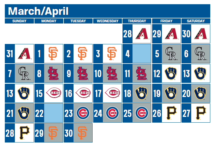 2019 Preliminary Regular Season Schedules Released By Major League