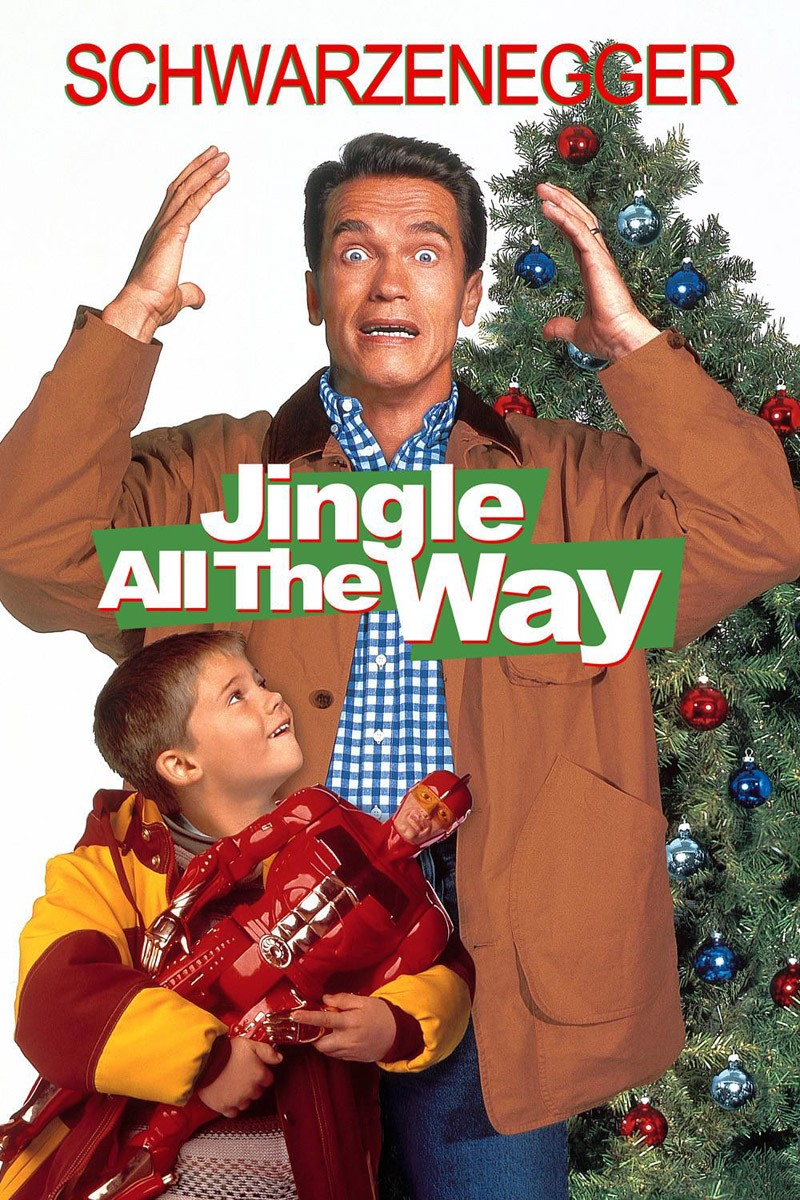 baggy jackets cant hide the muscle - Best Christmas Films