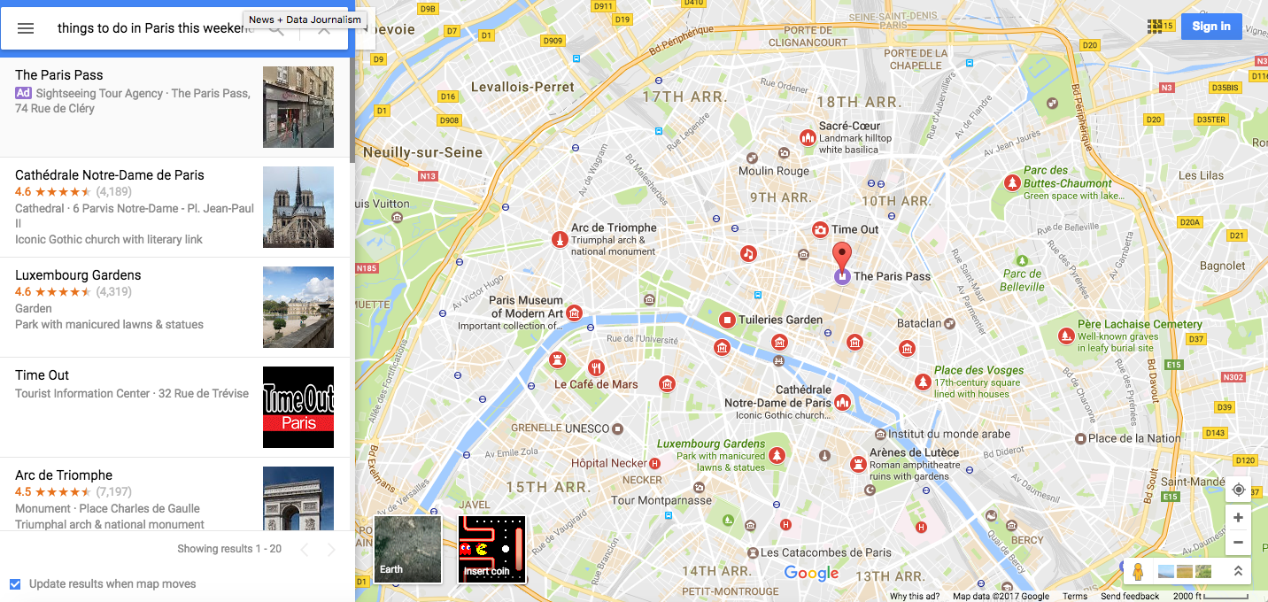 FeelFrenchCulture Putting Cultural Events On The Map - Paris things to do map