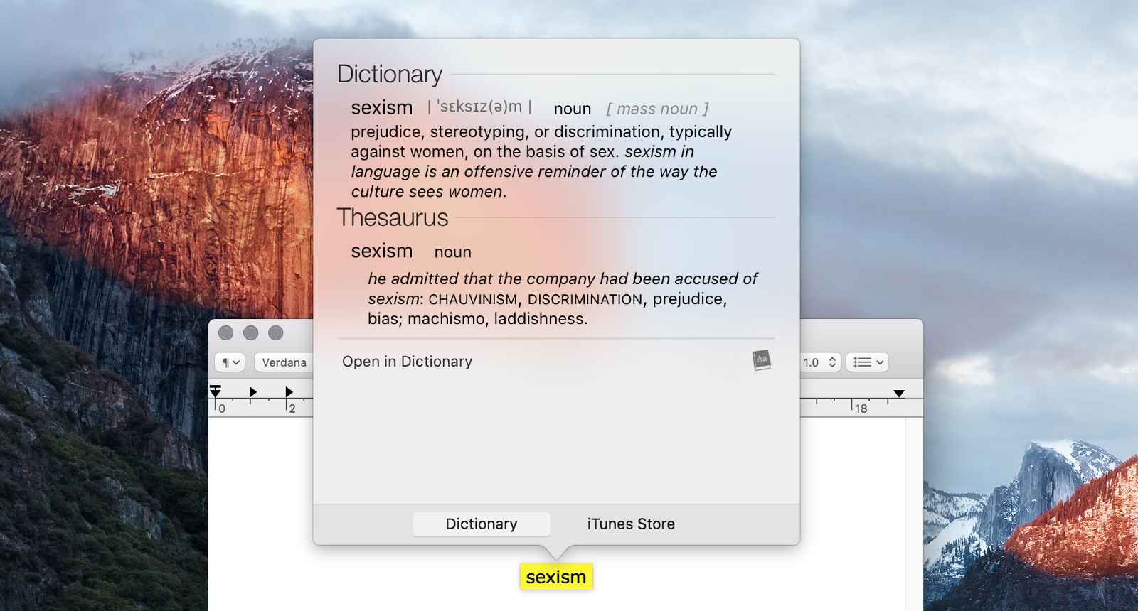 English In Italian: Sexism In The Oxford Dictionary Of English