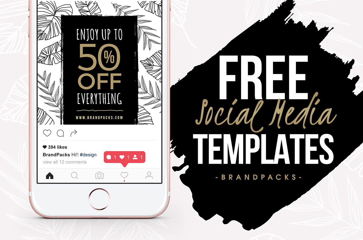 25 free social media mockups templates nastya esina medium