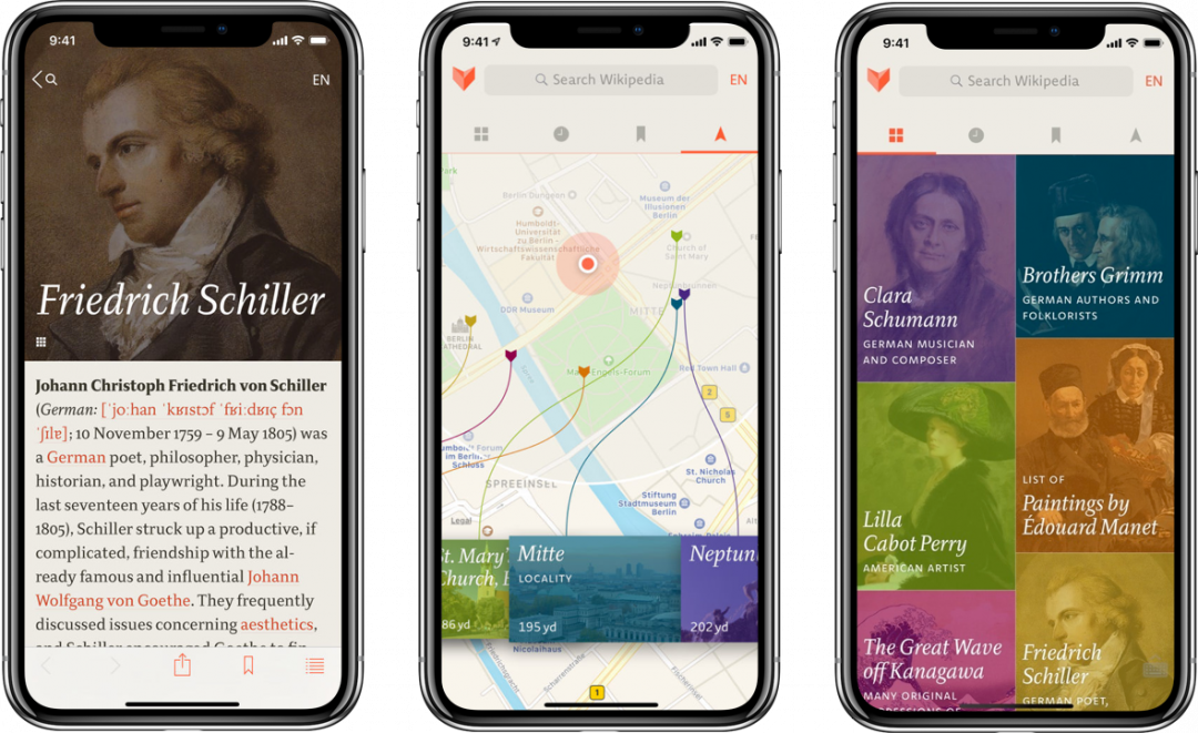 Meet V for Wikipedia: Fancy Reading For Your Mobile Device