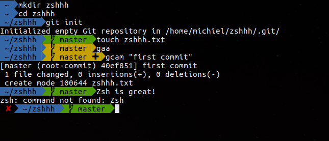 Entering . (dot) cancels zsh incremental history search ...