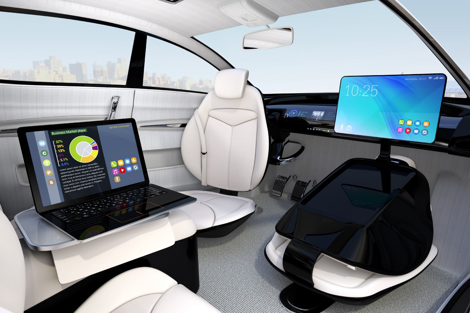 AI is helping industries - transportation - self driving car