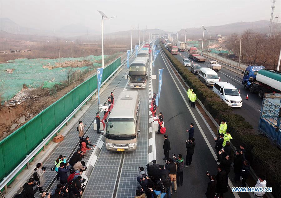 China Starts Work On World S First Super Highway That