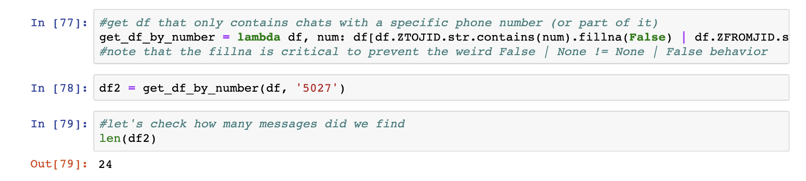 Adventures in WhatsApp DB – extracting messages from