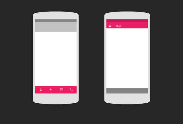3 Creative Concepts of Mobile Tab Bar Navigation – UX Planet