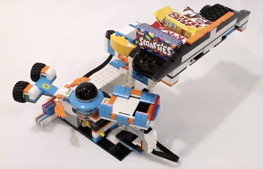 Lego Candy Launcher Perfect Last Minute Halloween Build