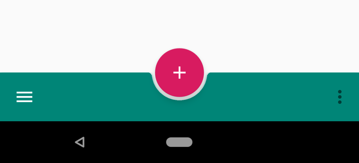 Implementing Bottomappbar I Material Components For Android