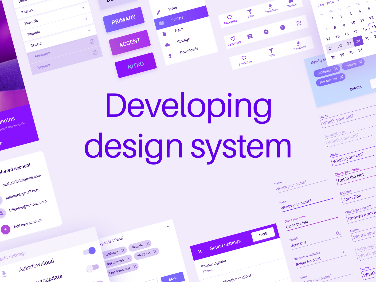 Developing design system how to avoid unexpected routine publicscrutiny Images