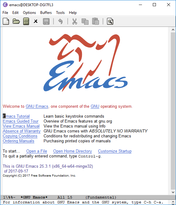 Emacs is sexy.