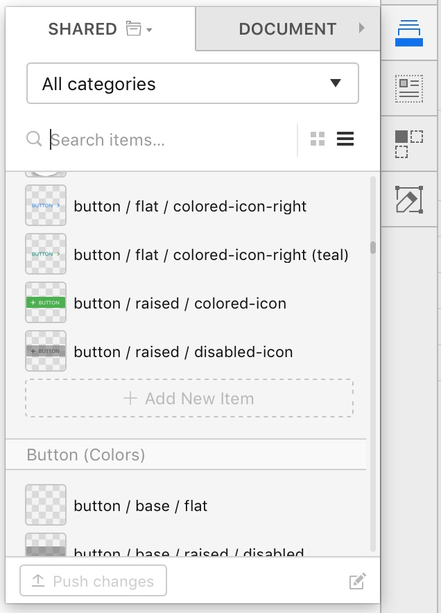 Sketch App A Better Responsive Button Using Symbols