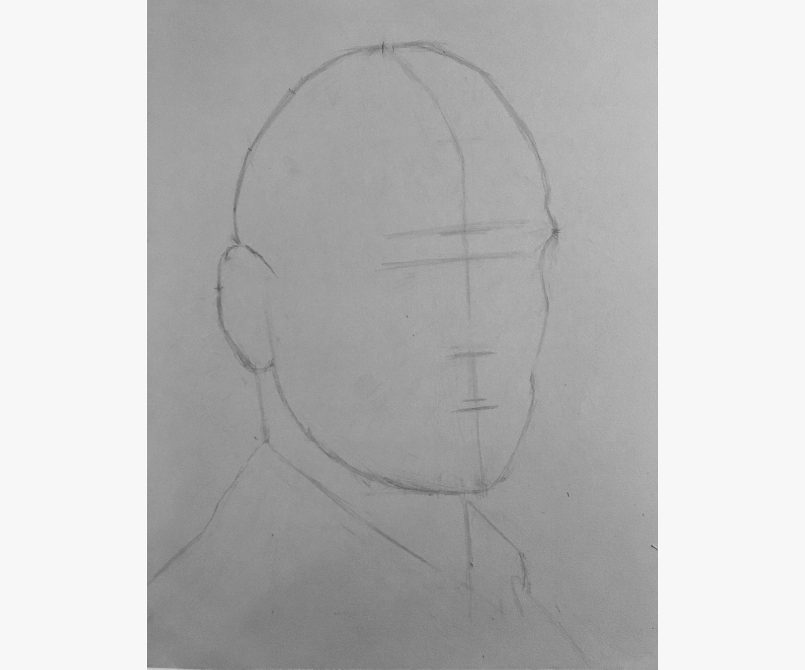 Line Drawings From D Models : How i learned to draw realistic portraits in only days