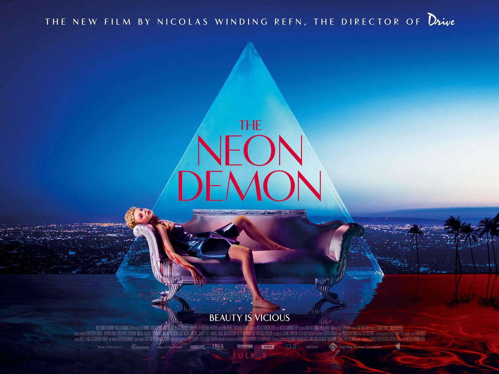 Nicolas Winding Refn Self Styled As NWR Doesnt Care What You Thought Of The Neon Demon Long Felt Penetrated Per Polarizing Is
