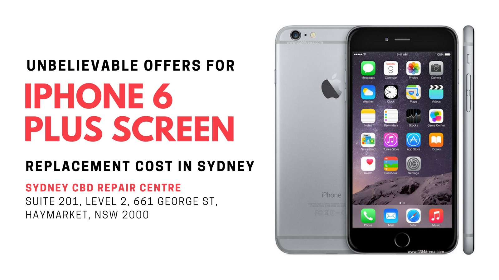 Unbelievable Offers For Iphone 6 Plus Screen Replacement Cost In Sydney