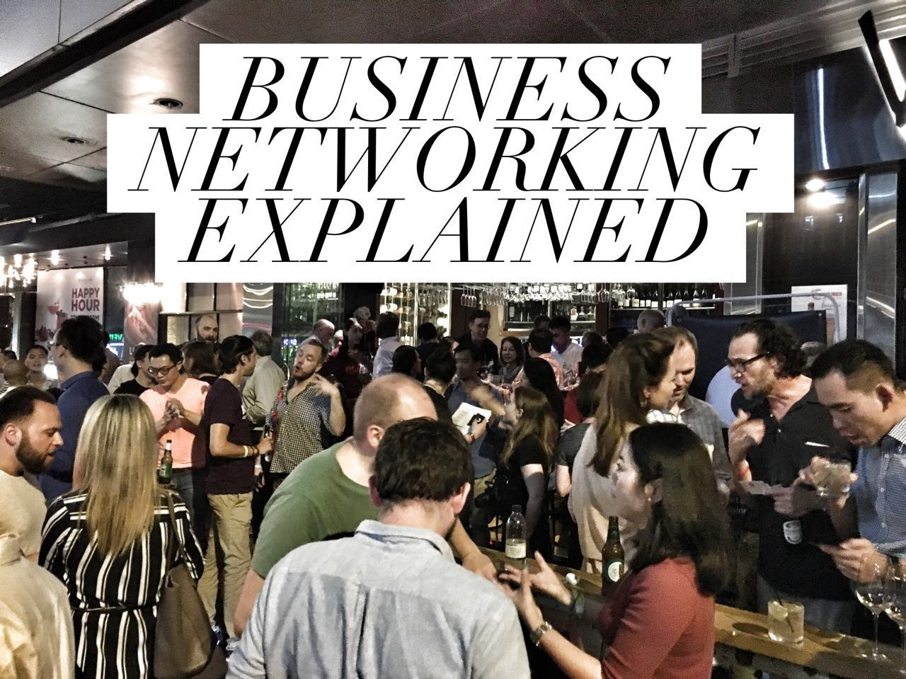 Meet The Right People: The Ultimate Guide to Business Networking