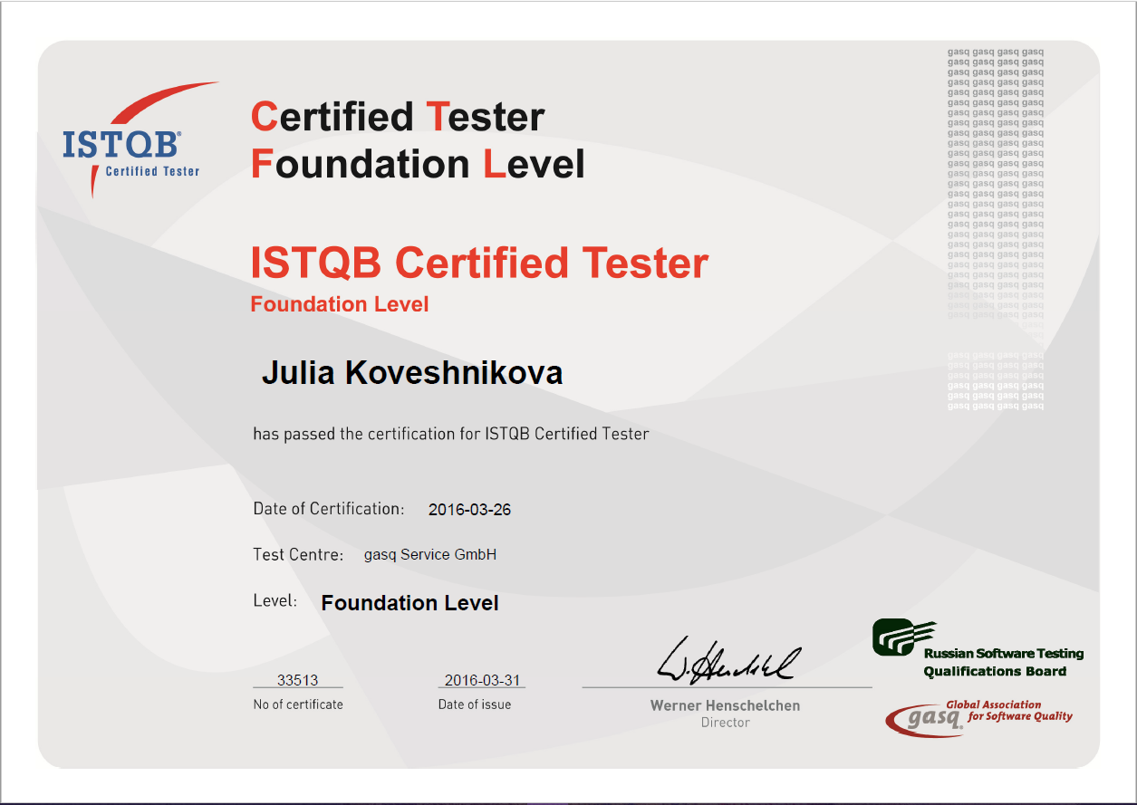 Istqb certificate validity best design sertificate 2017 istqb certified tester foundation level certificate testing xflitez Images