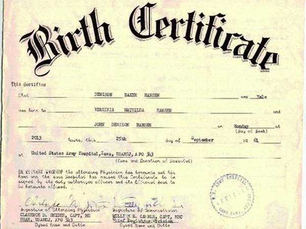 7 Easy Steps To Get The Birth Certificate For Your New Born Child