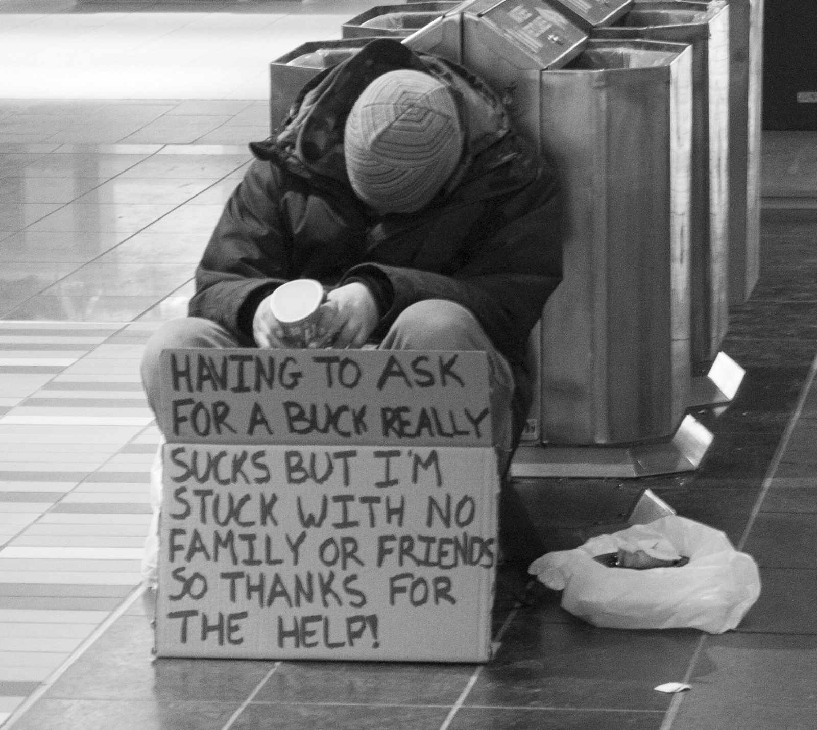 homeless satire Homeless people outside new york city are pushing for more help with homelessness rising throughout new york state, a coalition is calling on the legislature to expand tenant laws and other protections.