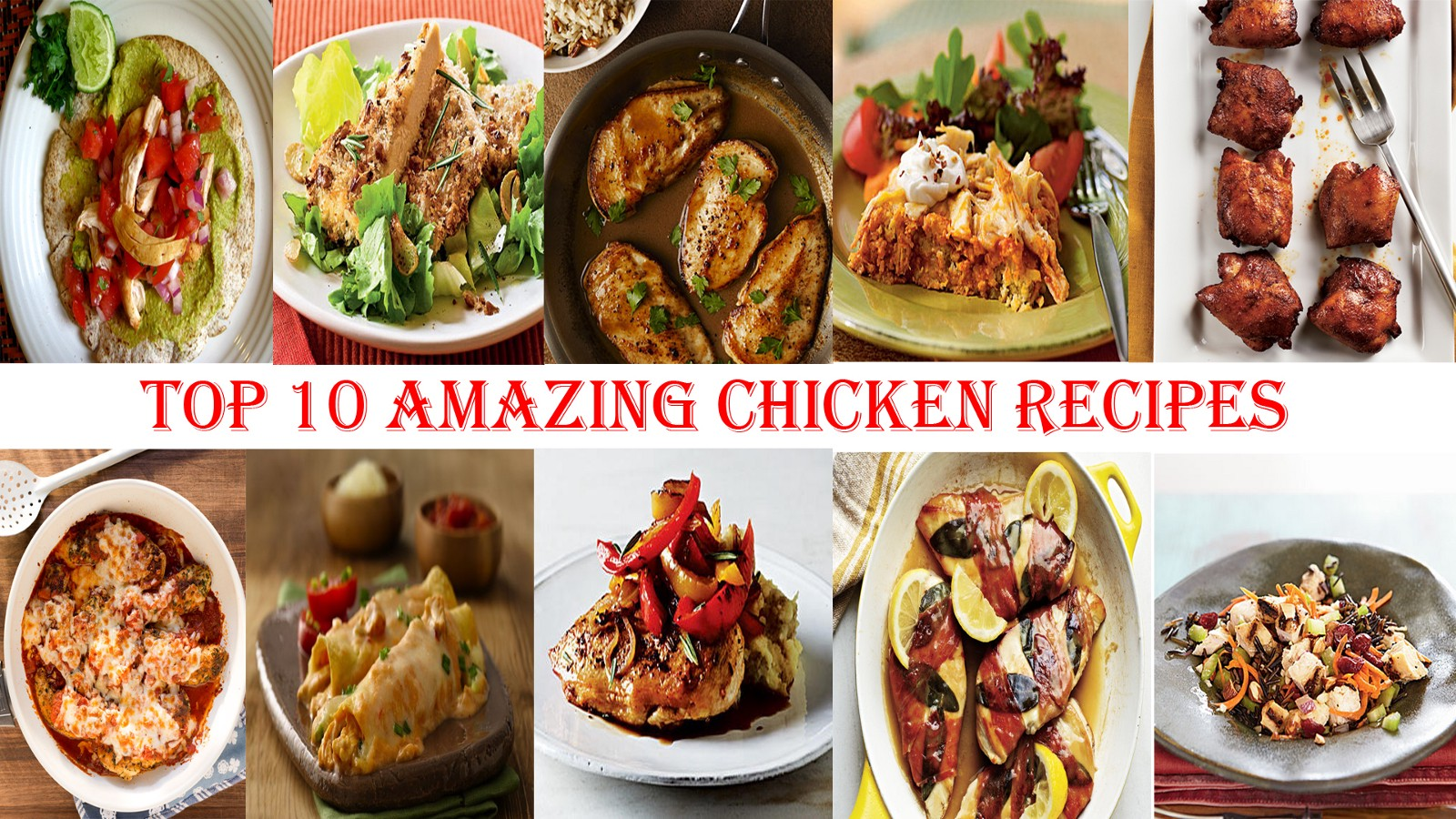 Top 10 Amazing Chicken Recipes for Bodybuilding: Superfoods
