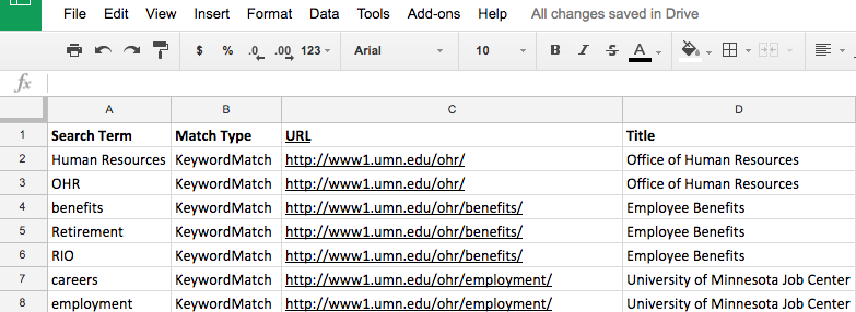 how to use google spreadsheets to check for broken links