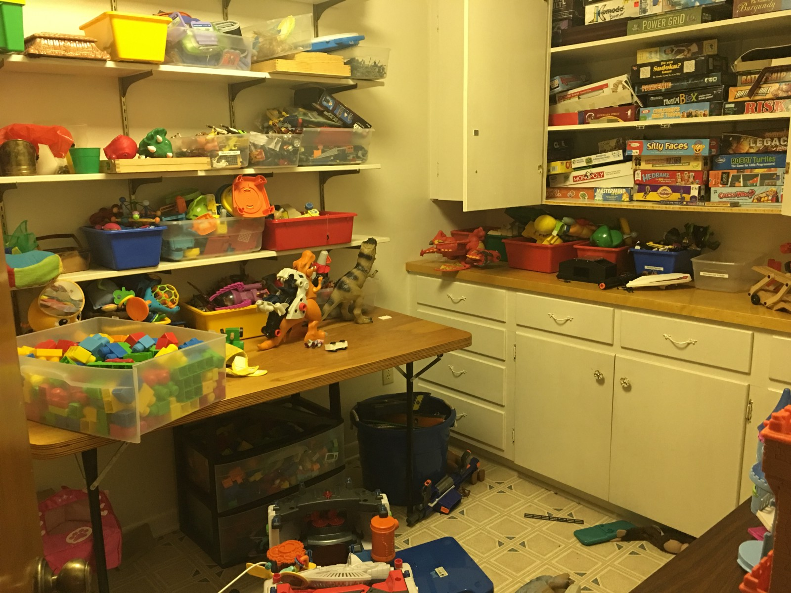 What Do You Use To Store Toys In : My foster children have too many toys— but let me tell you
