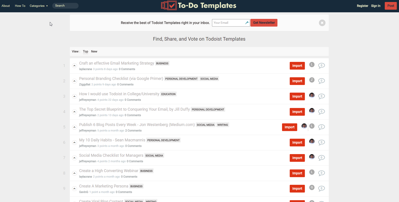 Use Todoist? You NEED to check out this tool – Todoist Templates ...