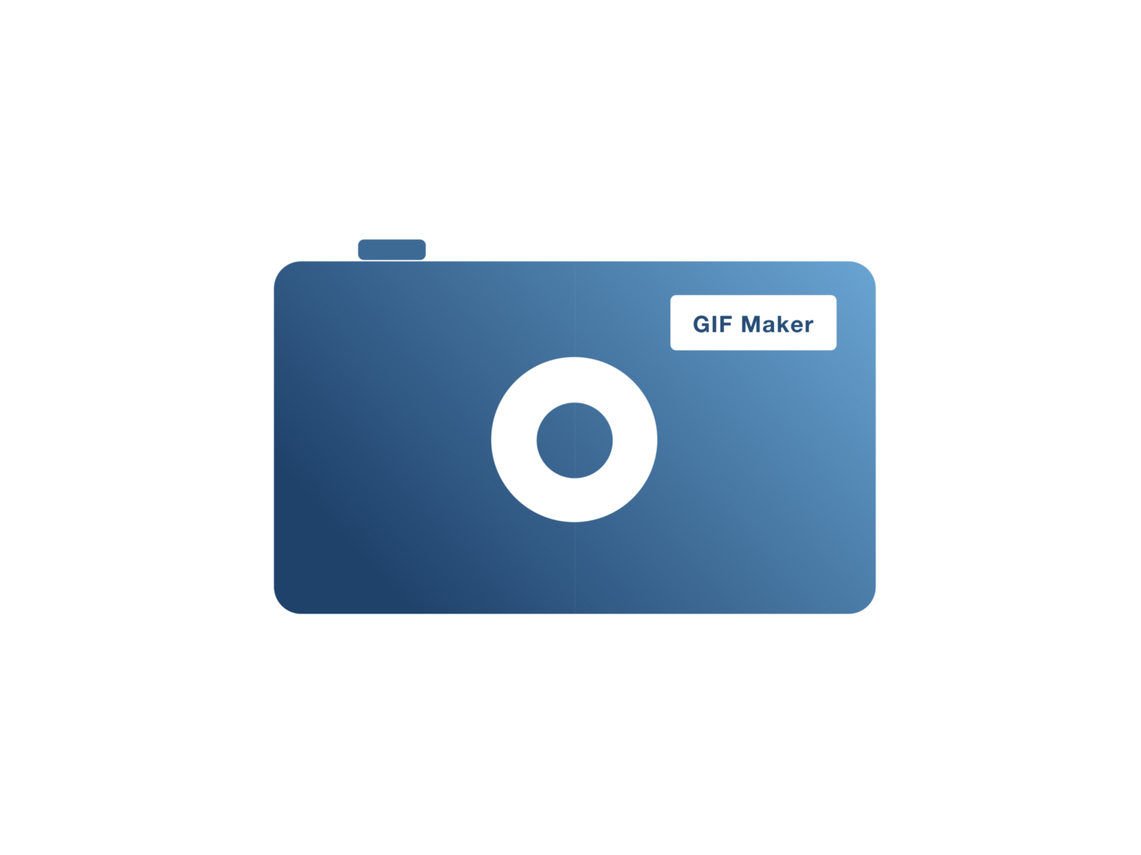 i conceived a gif maker app idea sometime ago and i thought about making an app icon for it and thats exactly what i tried doing for todays challenge