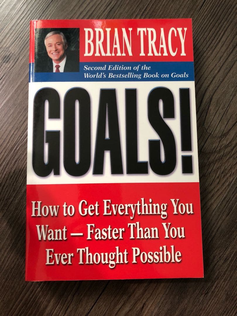 """One success Book that brings Everything Together — Brian Tracy's """"Goals"""""""