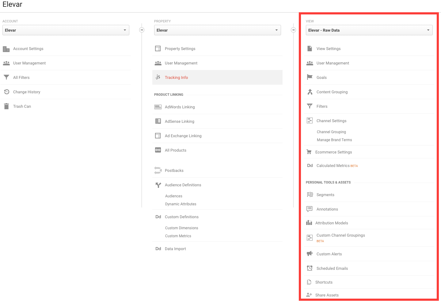 take 5 minutes to get your google analytics house in order