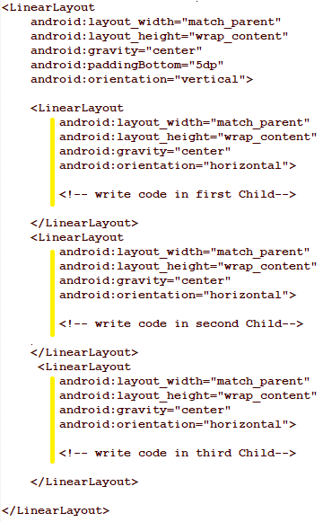 Designing A Circle With Linearlayout In Android Hamza Ahmed Medium