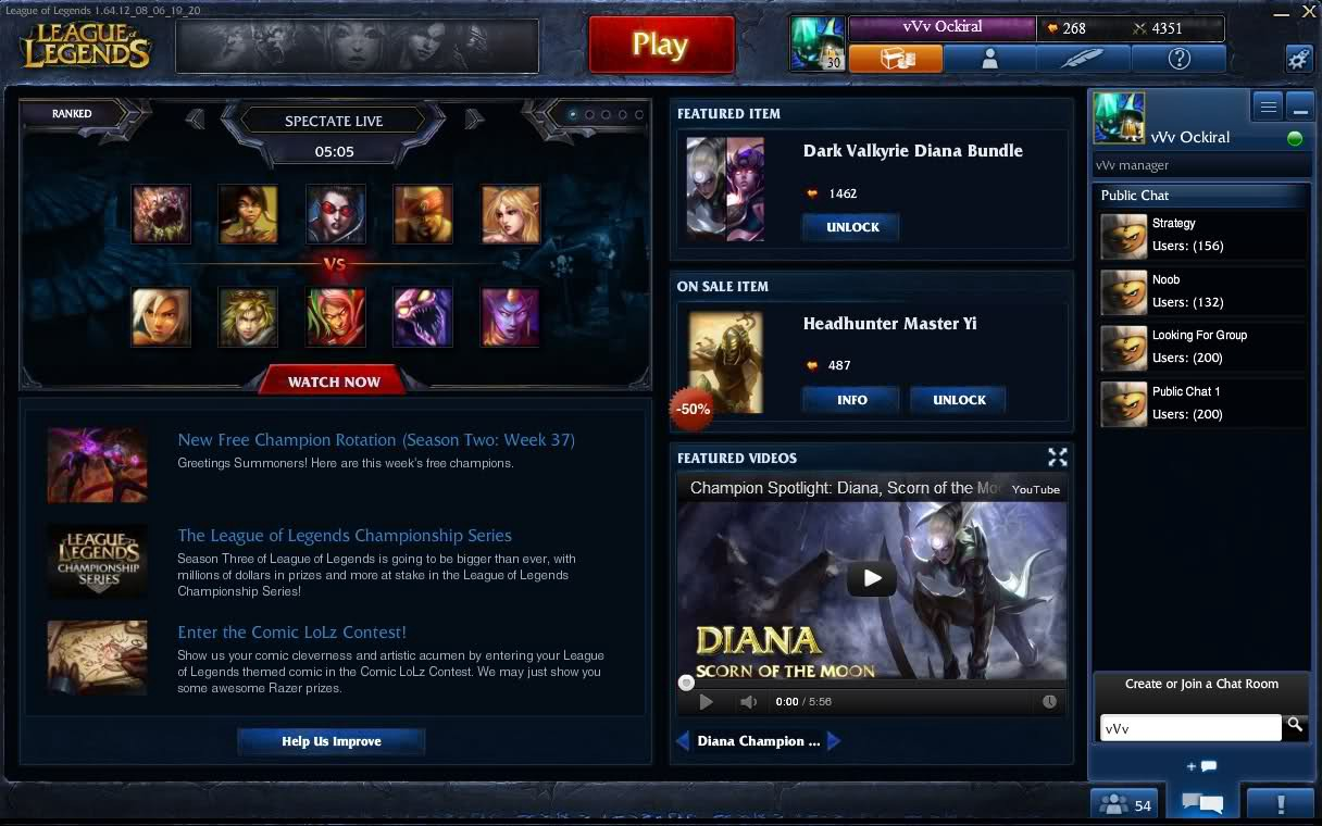 how to change client league of legends