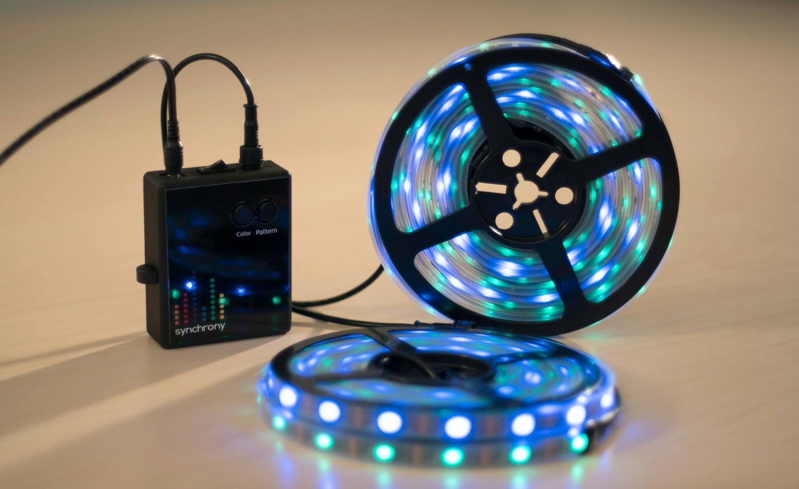 Synchrony LED Controller Responds Intelligently to Music