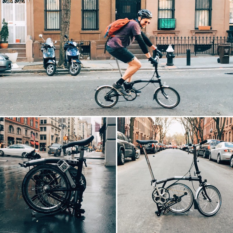 brompton s2l though now i kind of want a 2nd one with a different for super chill days and to share with megs for bike rides and tripsu2026