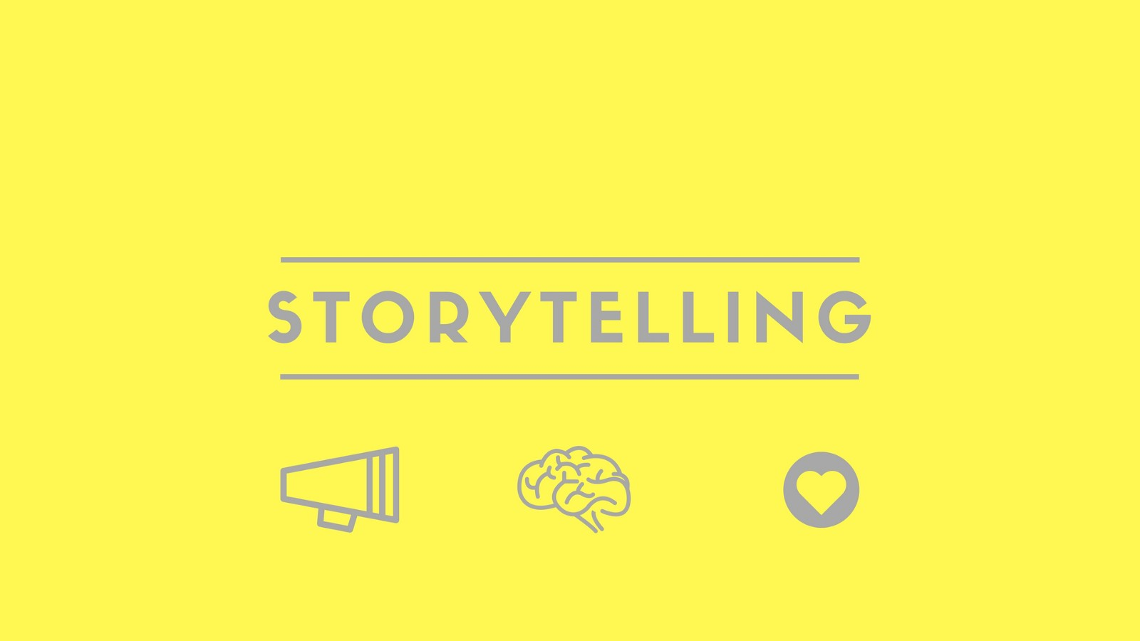 the power of storytelling - Storytelling Beispiele