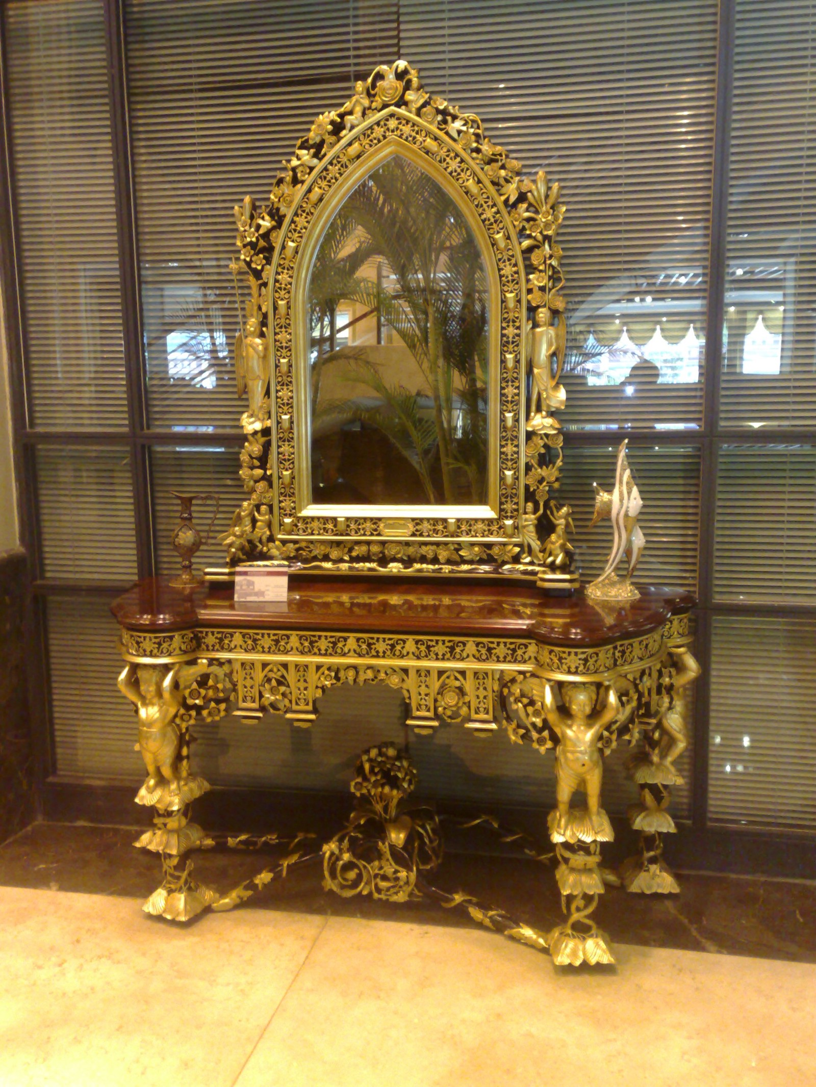 Gold Leafing On Furniture In Mumbai India