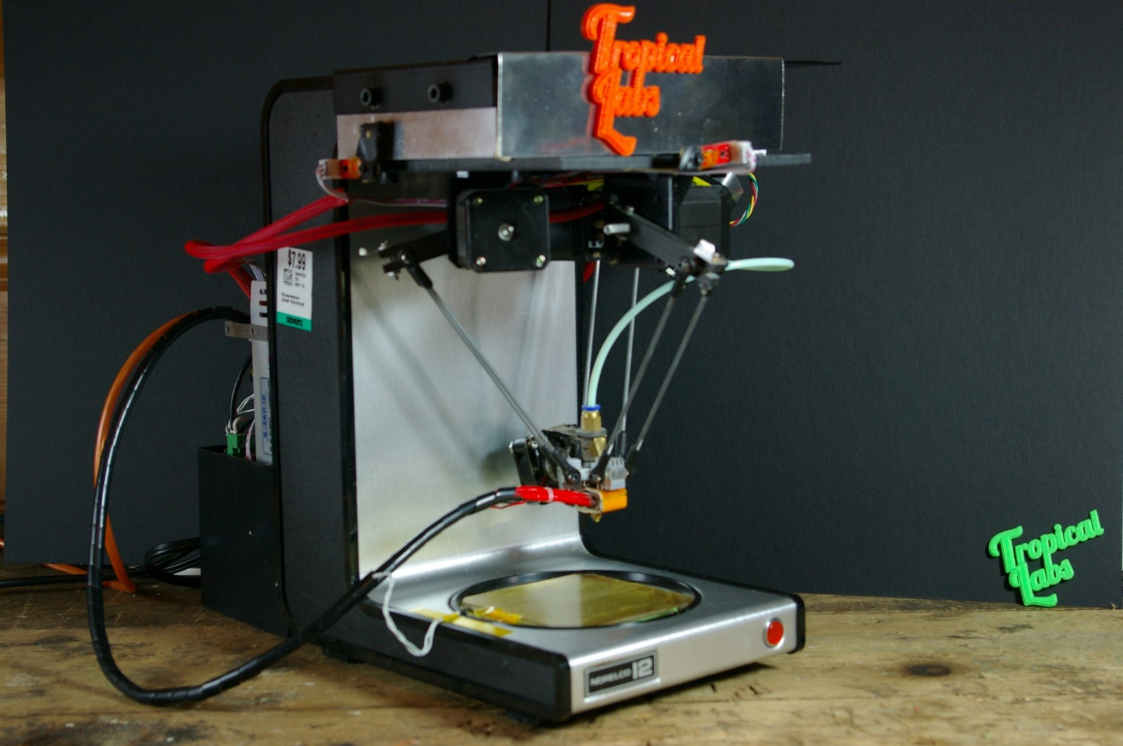 A Delta 3d Printer Built Out Of A Coffee Maker Hackster Blog