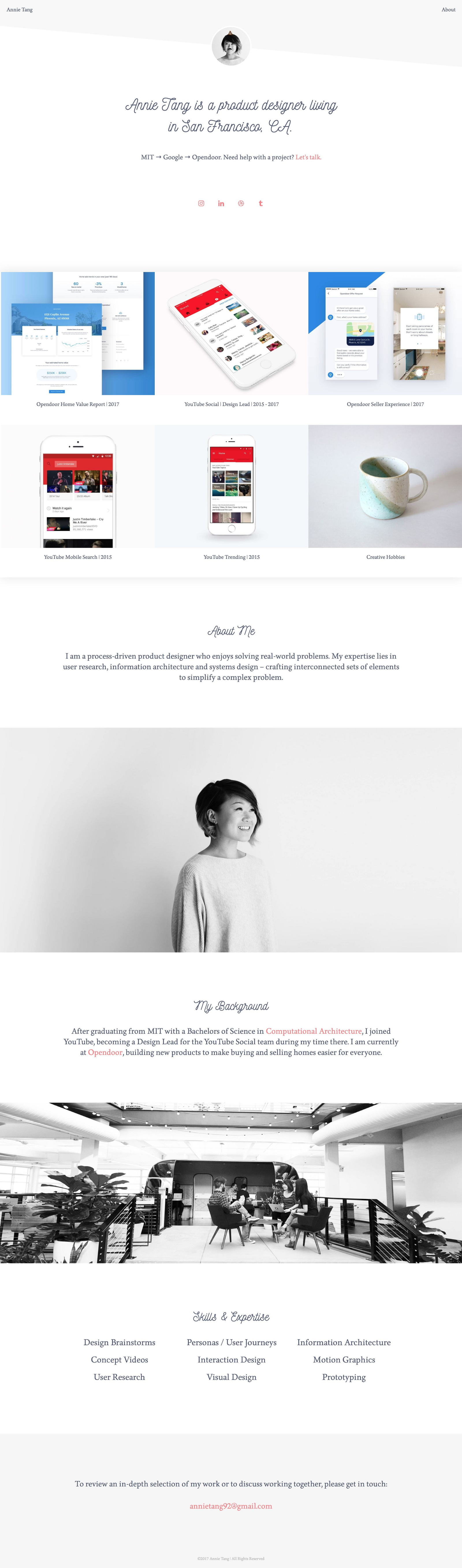 5 great design portfolios from students who are hired by Google and Facebook