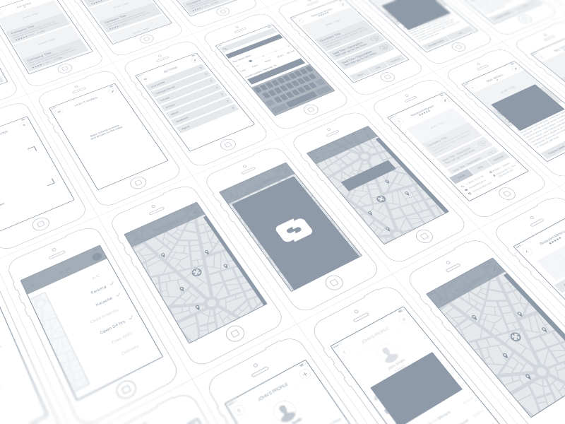 Quality Wireframes Inspiration – Muzli -Design Inspiration