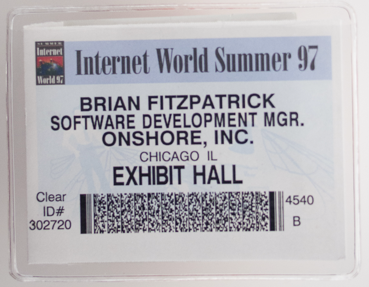 ten rules for a better conference name badge brian fitzpatrick