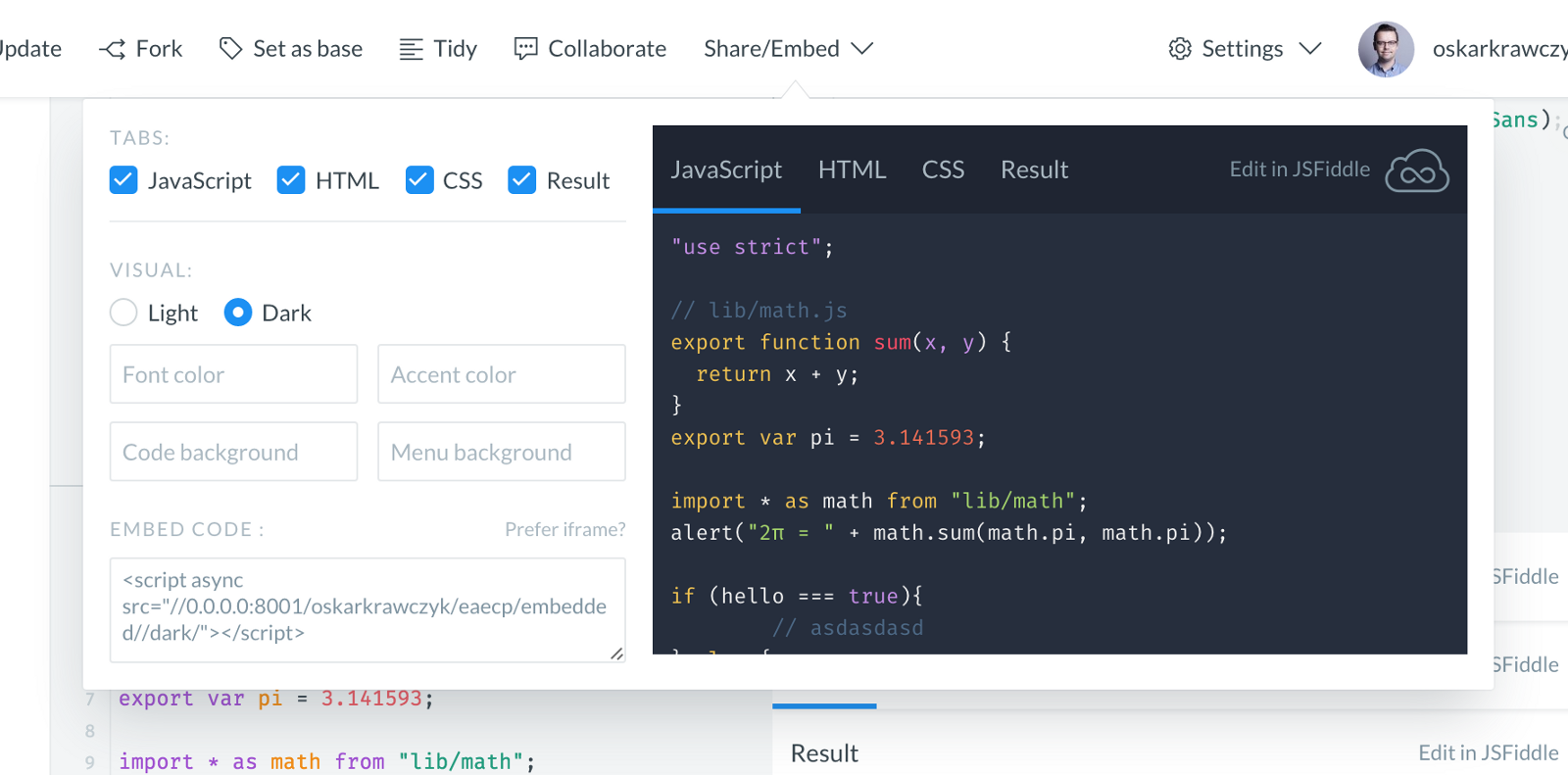 New Jsfiddle Embeds Jsfiddle Updates Medium